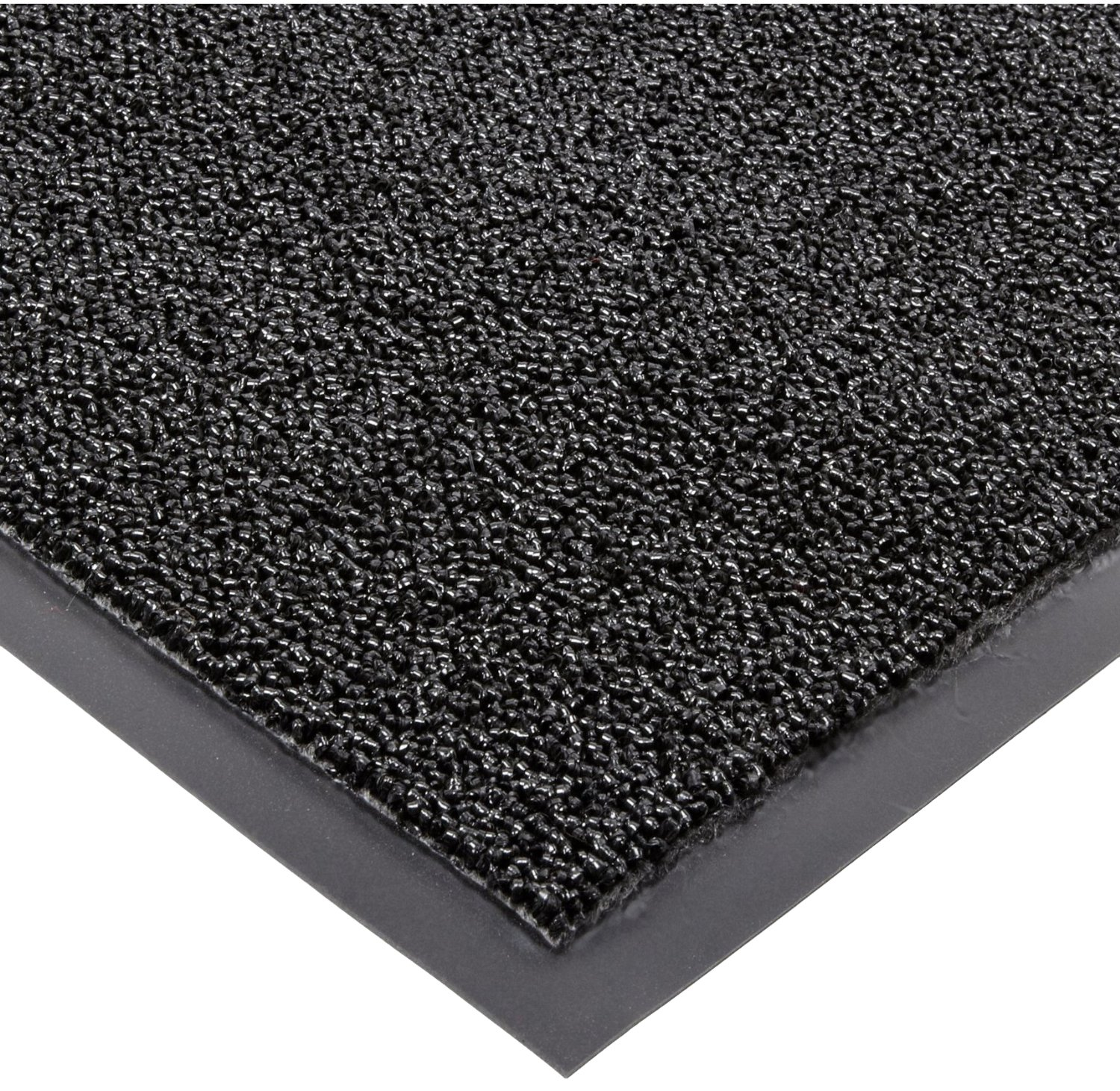 Notrax 146 Encore Entrance Mat, for Inside Foyer Area, 4' Width x 8' Length x 5/16'' Thickness, Black