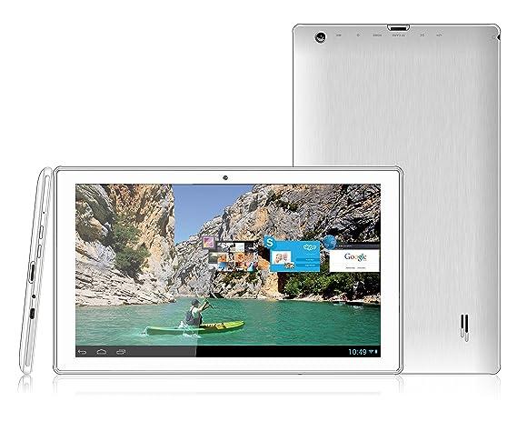 Storex eZeeTab 10Q13-M 8GB 3G Color Blanco - Tablet (Tableta de tamaño Completo, IEEE 802.11n, Android, Pizarra, Android, Color Blanco): Amazon.es: ...