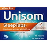 Unisom Sleep Tabs Tablets, 48-Count