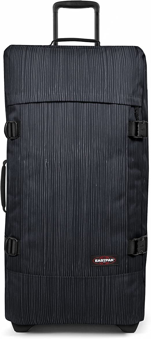 Eastpak TRANVERZ L Bagage Cabine, 79 cm, 121 liters, Bleu (Stripe It Cloud)
