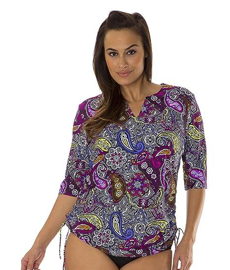 2191d1b8b2602 MZ760) Mazu Swim Women s Plus Size Tunic Cover Up (1X-3X) in ...