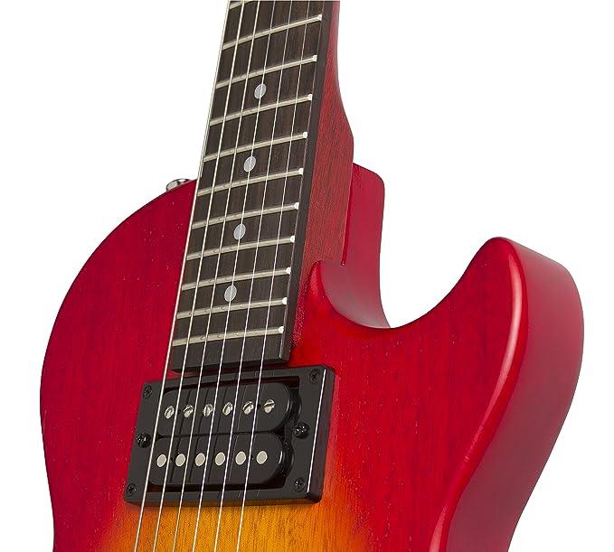 Epiphone Les Paul Especial VE Guitarra Eléctrica - Worn Heritage Cereza Sunburst: Amazon.es: Instrumentos musicales