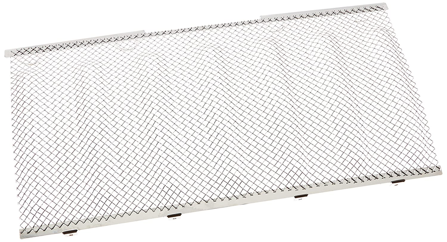 TRex Grilles 44481 Small Mesh Stainless Chrome Finish Sport Grille Bolt-on for Jeep Wrangler
