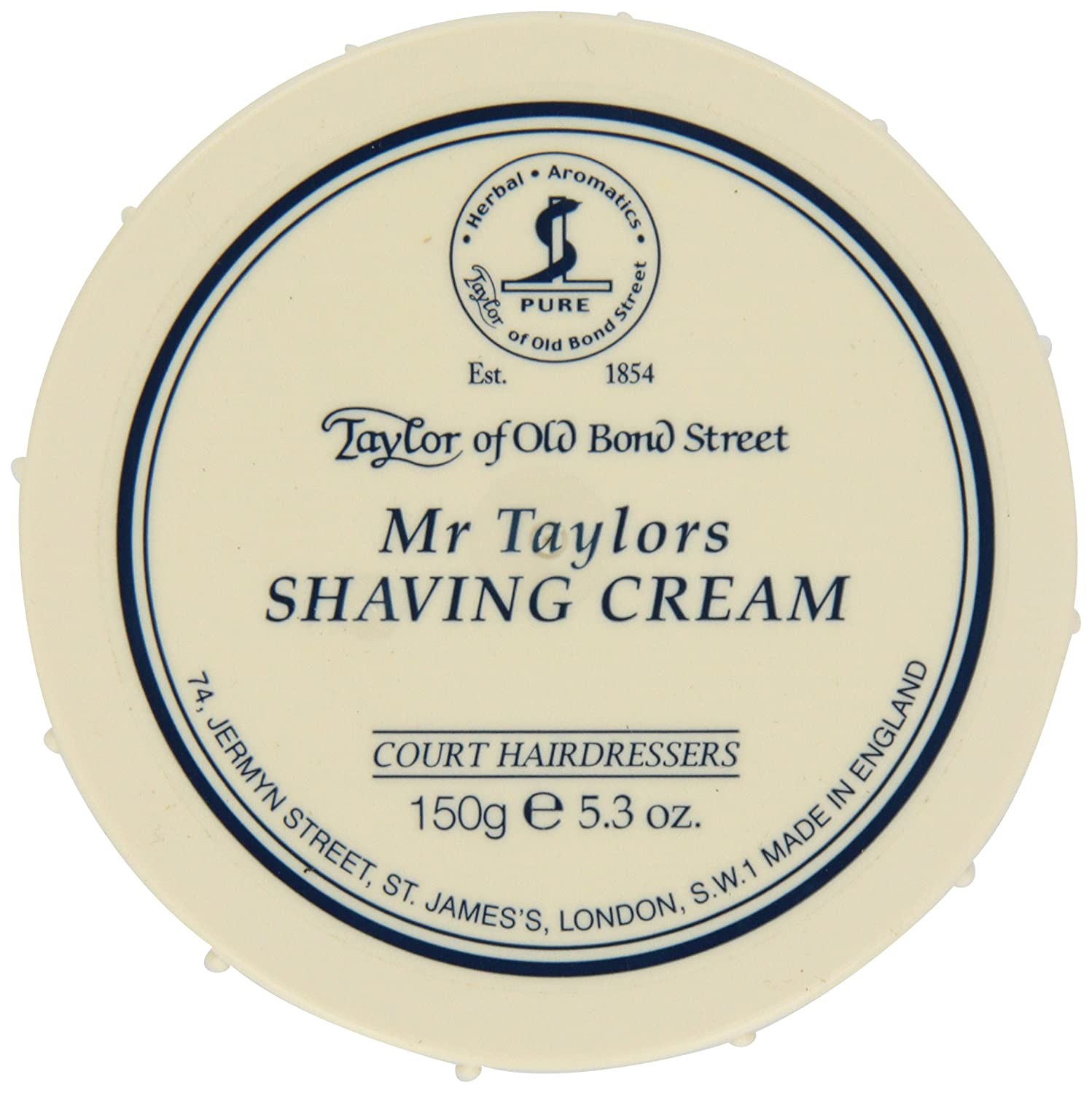 Taylor of Old Bond Street Mr. Taylor's Shaving Cream, 5.3-Ounce 01008