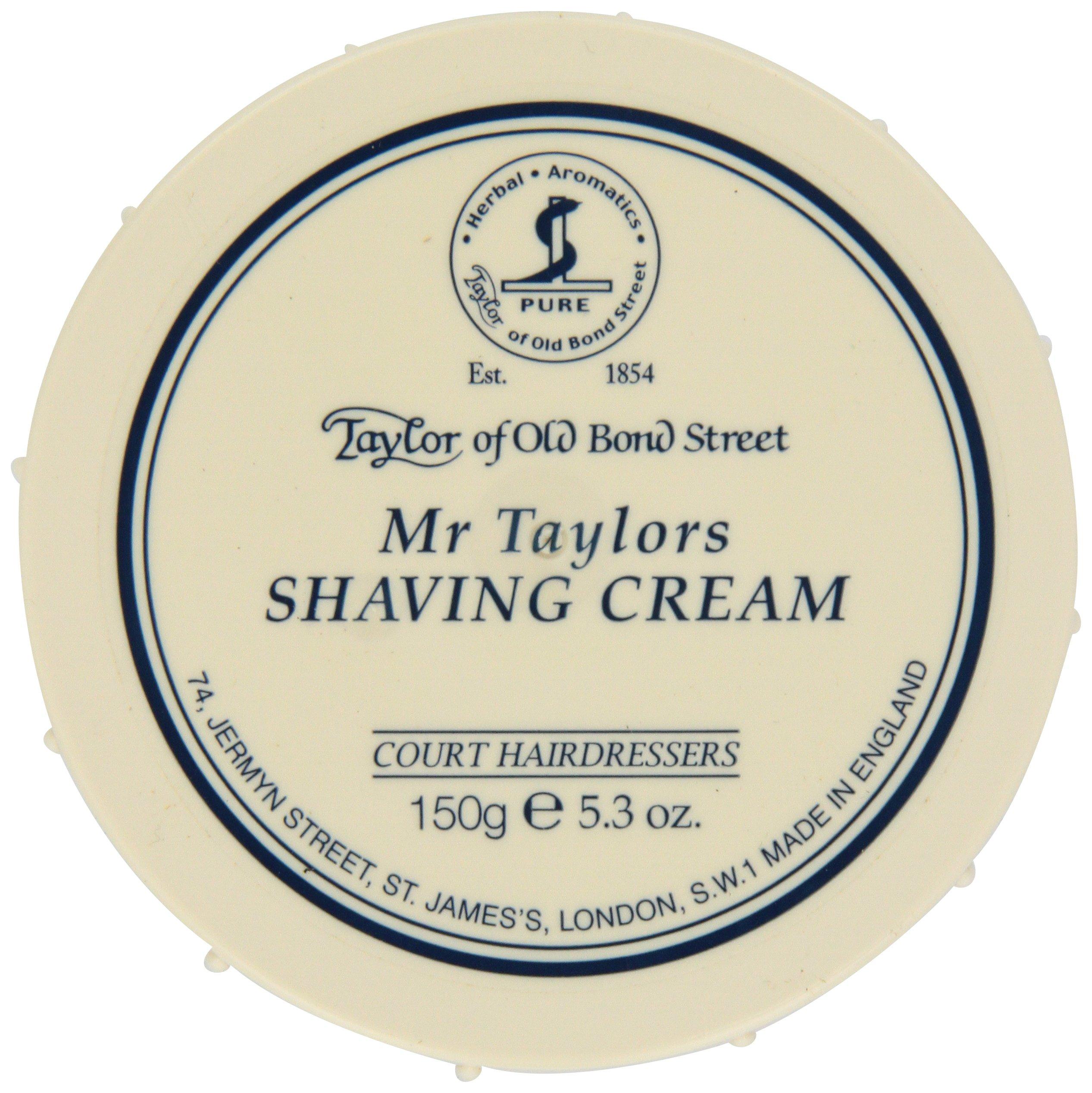 Taylor of Old Bond Street Mr. Taylor's Shaving Cream,5.3-Ounce