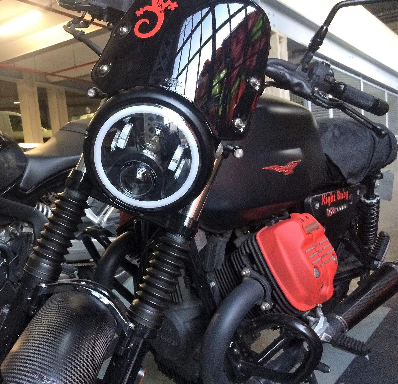 Faro LED para moto Guzzi V7 I II III V9