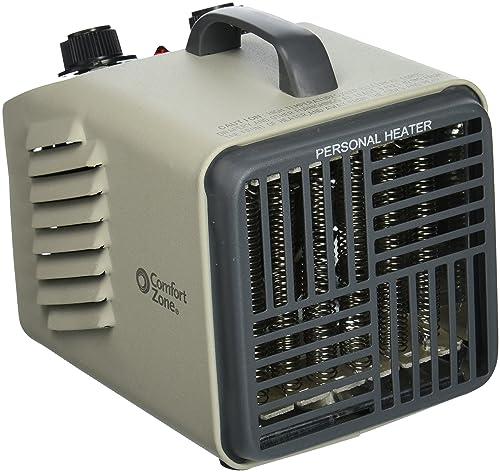 Comfort Zone Cz707 Personal Heater Fan 2 Heat Settings