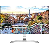 "LG 27MP89HM-S.AEU Monitor per PC Desktop 27"" LED IPS, Full HD 1920x1080, 5ms, AMD FreeSync 75Hz, 2x HDMI, 1x VGA, Borderless, Argento"