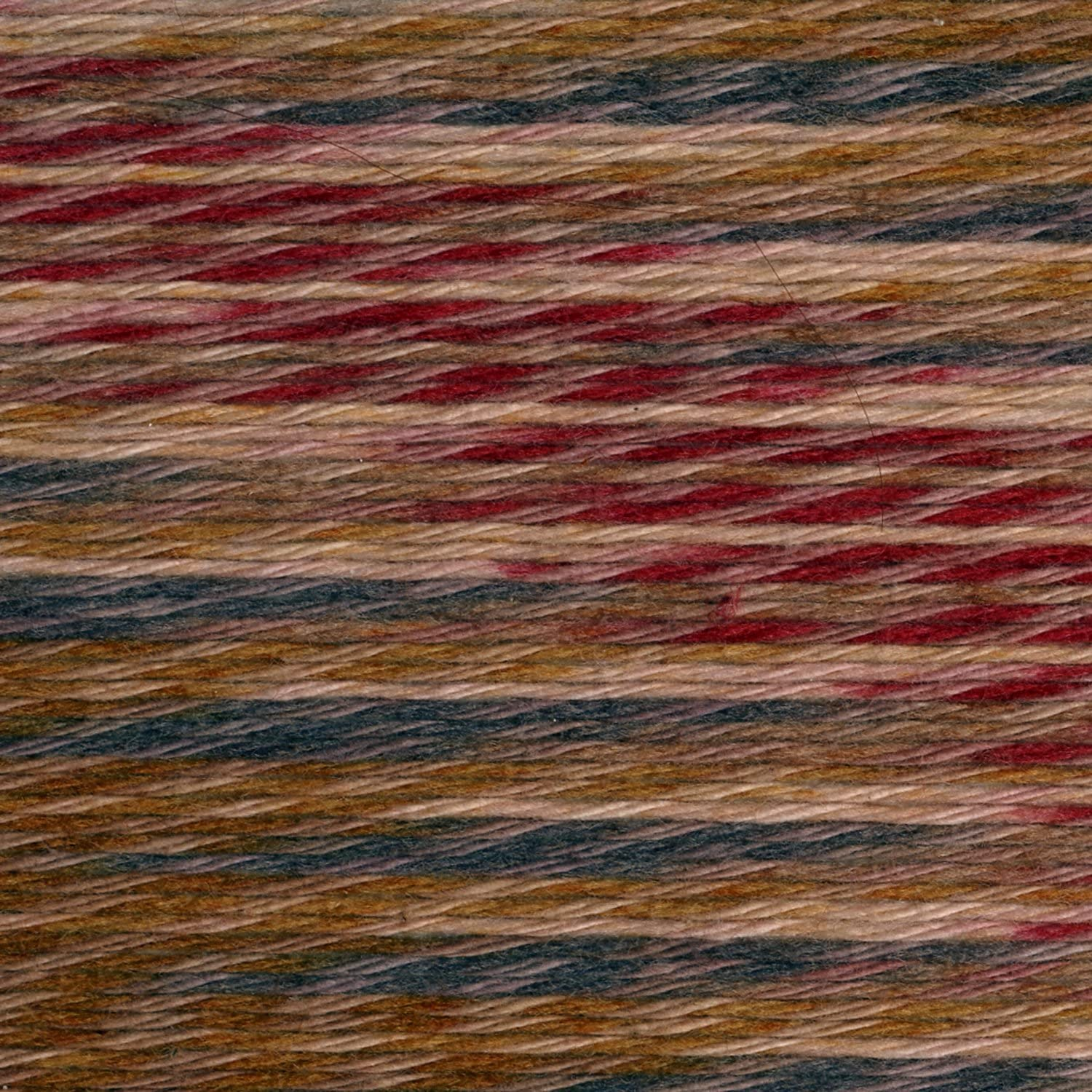 Lion Brand Yarn 756-711 Comfy Cotton Blend Yarn Fireside