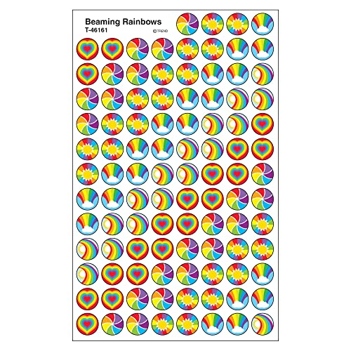 Trend Beaming Rainbows Reward Stickers