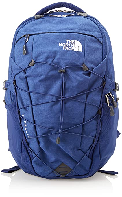 61d0383a6bb The North Face Borealis Backpack - Flag Blue Light Heather & TNF White - OS