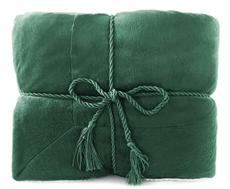 Faux Fur Throw Blanket Lambswool Blanket Throw Special Price Stunning Forest Green Throw Blanket