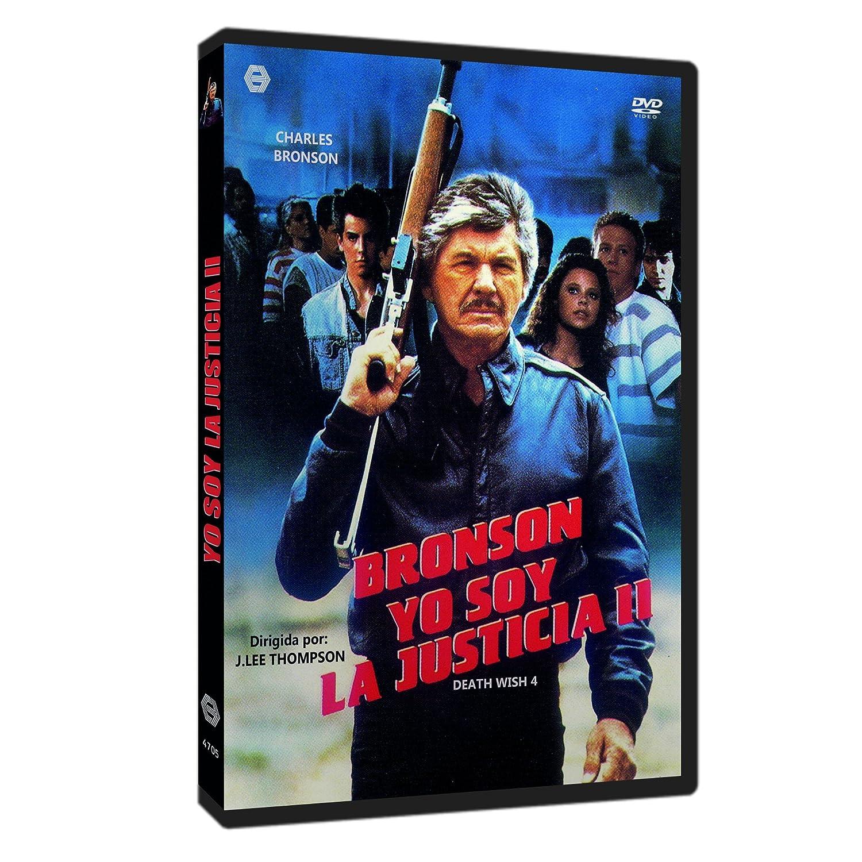 Yo Soy la Justicia II 1987 DVD Death Wish 4: The Crackdown ...