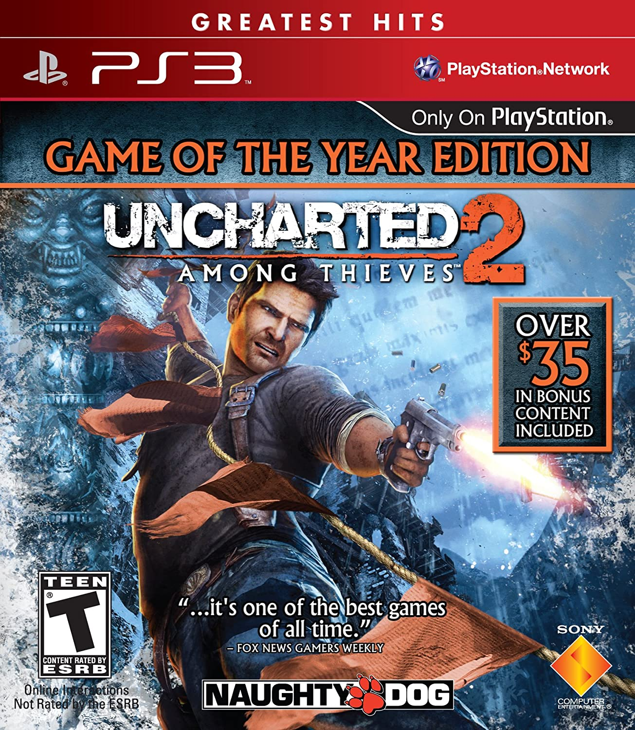 Amazon Com Uncharted 2 Among Thieves Game Of The Year Edition Playstation 3 Unknown Video Games