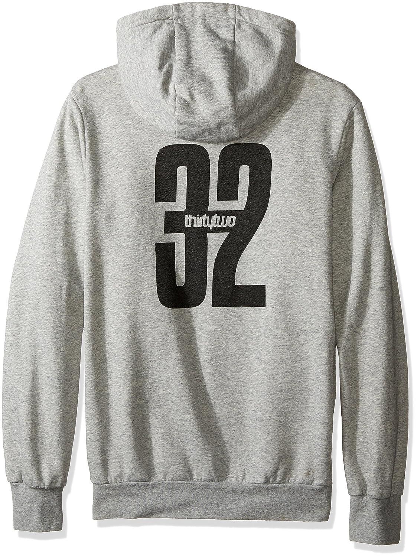 thirtytwo Mens Stamped Zip Fleece