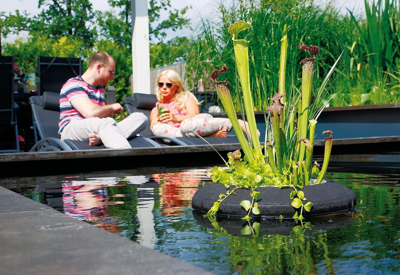 /Ø 25 cm Floating Plant Island Rund Velda 127572 Treibende Pflanzinsel f/ür den Teich