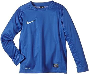 Nike Ls Boys Park V Jsy Camiseta de Equipación de Fútbol de Manga Larga, Niños, Azul real/blanco, S: Amazon.es: Deportes y aire libre