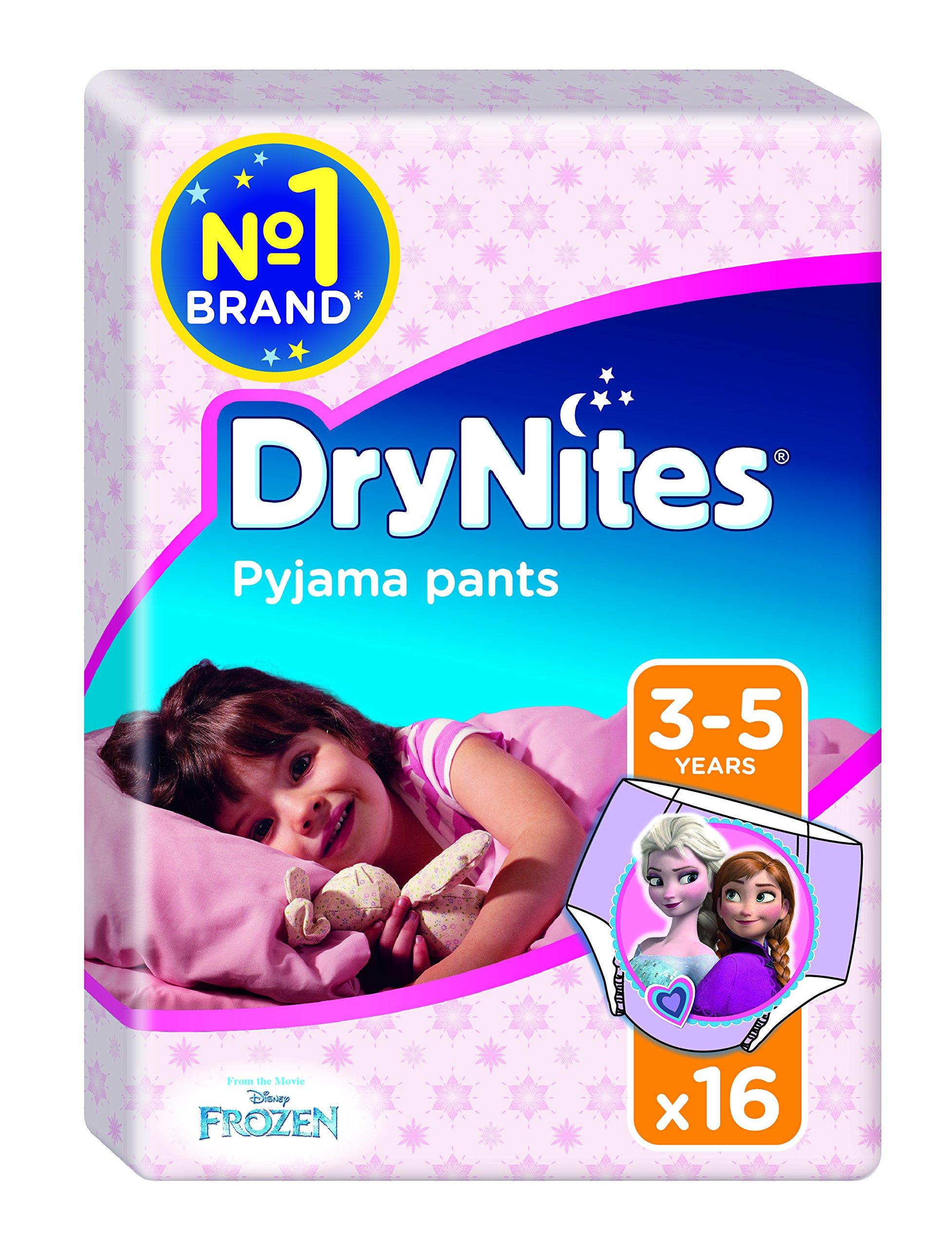 Drynites - Braguitas absorbentes, 3-5, niña, 16 unidades product image