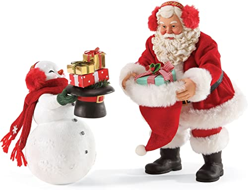 Department 56 Possible Dreams Gift Exchange Santa, 10 inch
