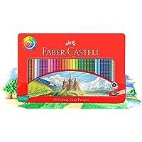 Faber-Castell Grip Pencils 36 Colour Grip Pencils Gift Tin, (16-116257)