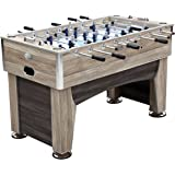 Harvil 56-Inch Beachcomber Foosball Table for Kids and Adults with Silver Abacus Units, Leg Levelers and Free Accessories