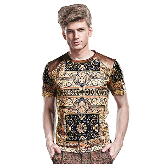 41e4b068044 FANZHUAN T Shirts Summer Mens T Shirts Dress for Men T Shirts Men Small  Shirts Men