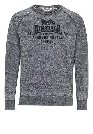Lonsdale - Sudadera - para Hombre Antracita XXL