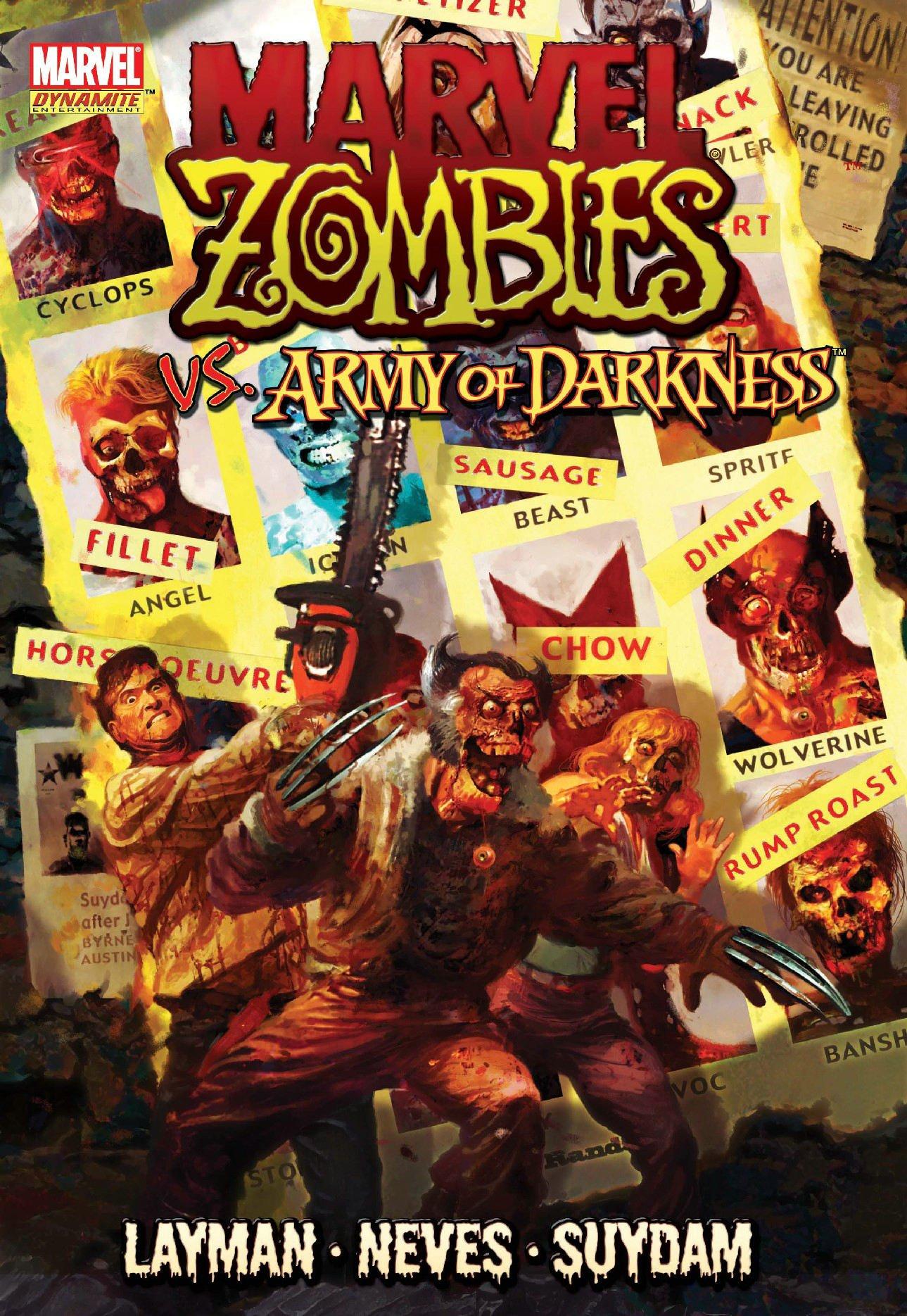 Marvel Zombies/Army Of Darkness HC   Amazon.com.br