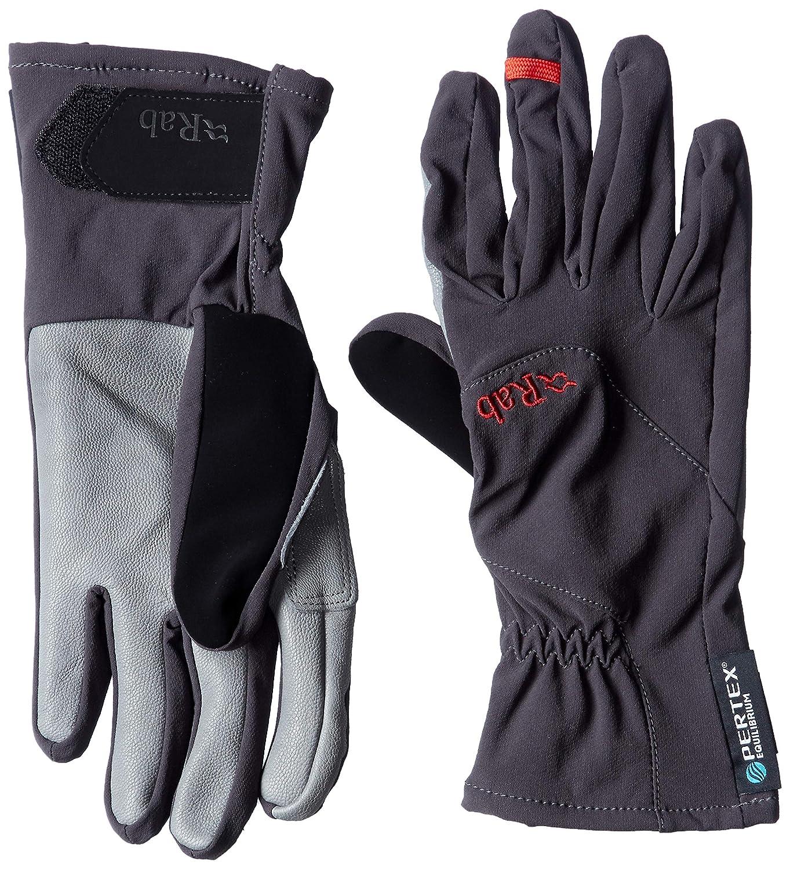 RAB Herren Vapour-Rise Handschuhe, Schwarz-Schwarz