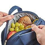VonShef 4 Person Outdoor Picnic Backpack Bag Set