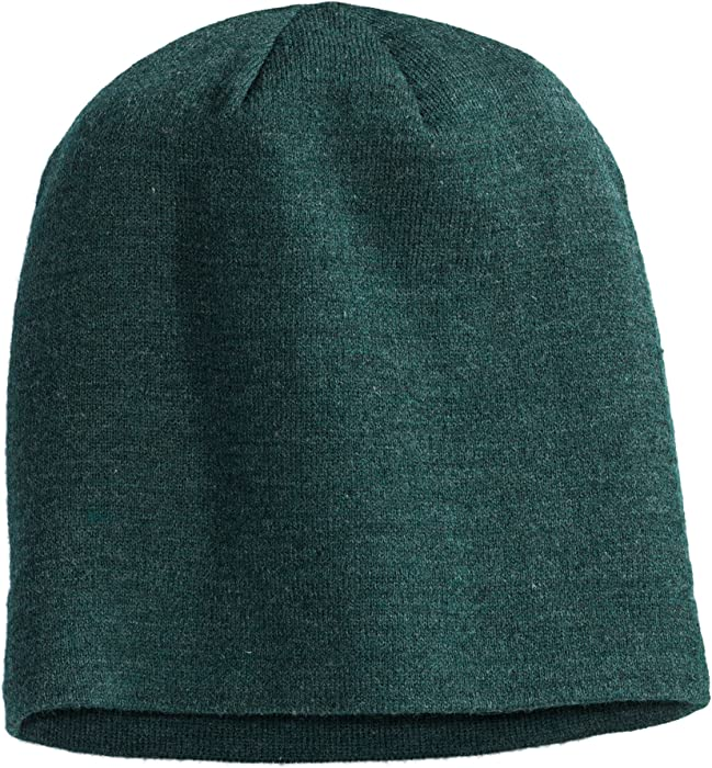 95a6d7cb93a District Comfortable Slouch Beanie - Forest Green Heather DT618 O S ...
