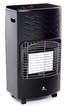 Sunny S40 - 01 Estufa infrarrojos GPL S40, 4200 W, Negro: Amazon.es: Bricolaje y herramientas