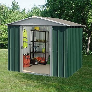 check-out 6f26c ee3db YardMaster - Abri de Jardin Métal - 67GEYZ - 4.38 m²: Amazon ...
