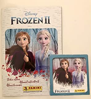 50 packs stickers Disney FROZEN 2016 English Is Fun Unopened PANINI