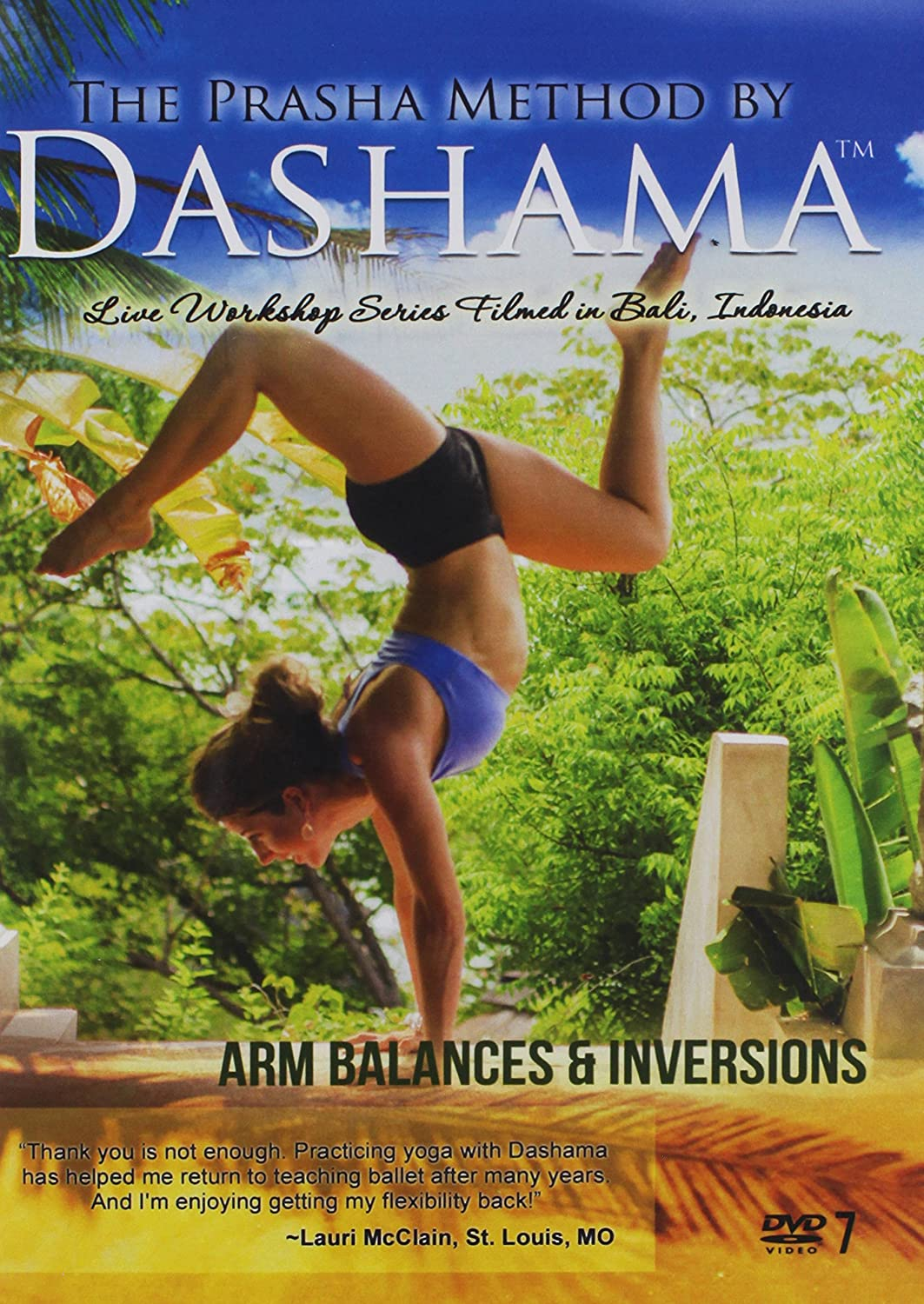Amazon.com: Arm Balances & Inversions: Dashama Konah Gordon ...