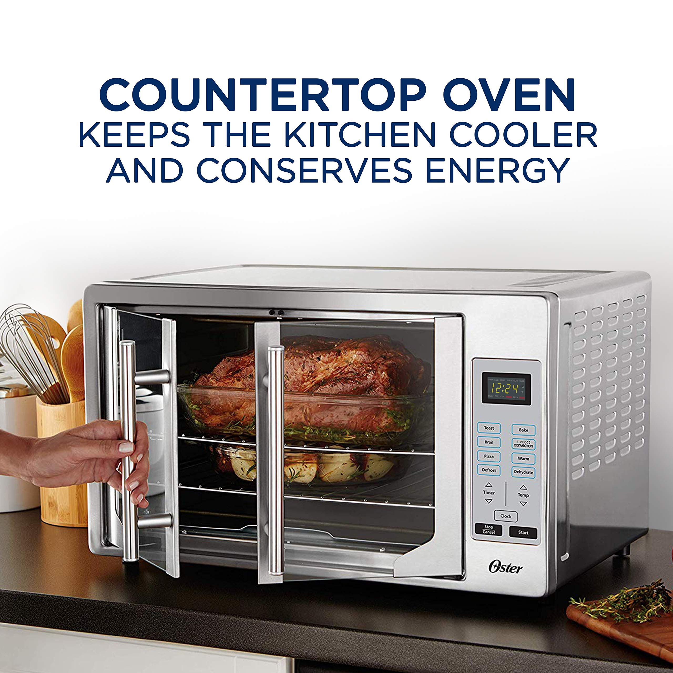 Oster French Convection Countertop Amp Toaster Oven Single