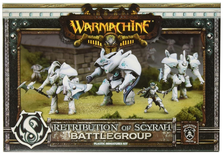 Retribution Battlegroup Model Kit Retribution of Scyrah Privateer Press Warmachine