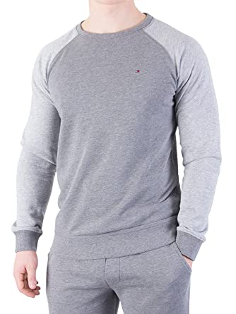Tommy Hilfiger Men s Raglan Marled Sweatshirt, Grey, Large. Sorry, this item  is not available in  Image not available  To view ... 99046bba4aaa