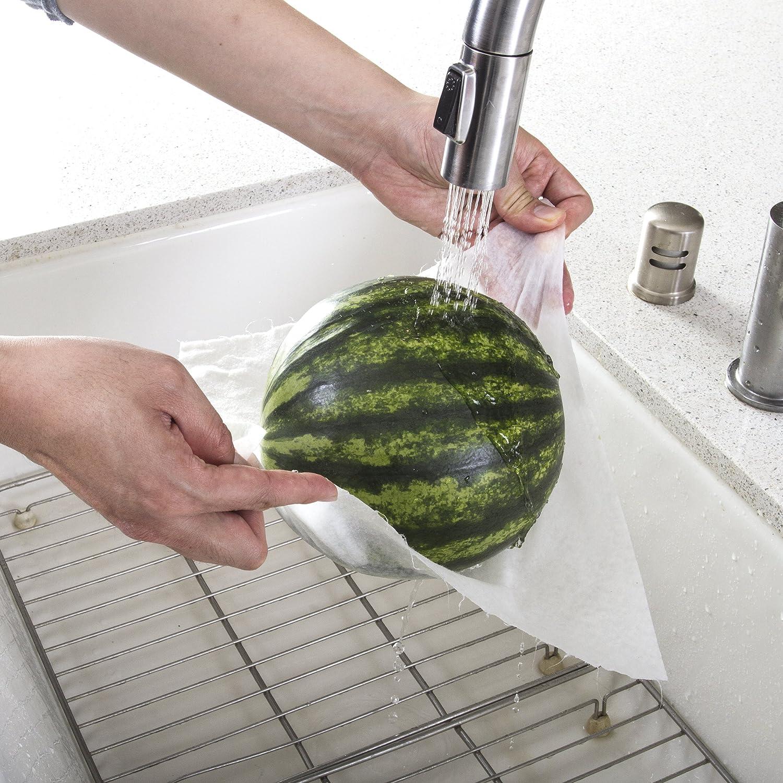 Heavy Duty Eco Friendly Machine Washable Reusable Bamboo Towels