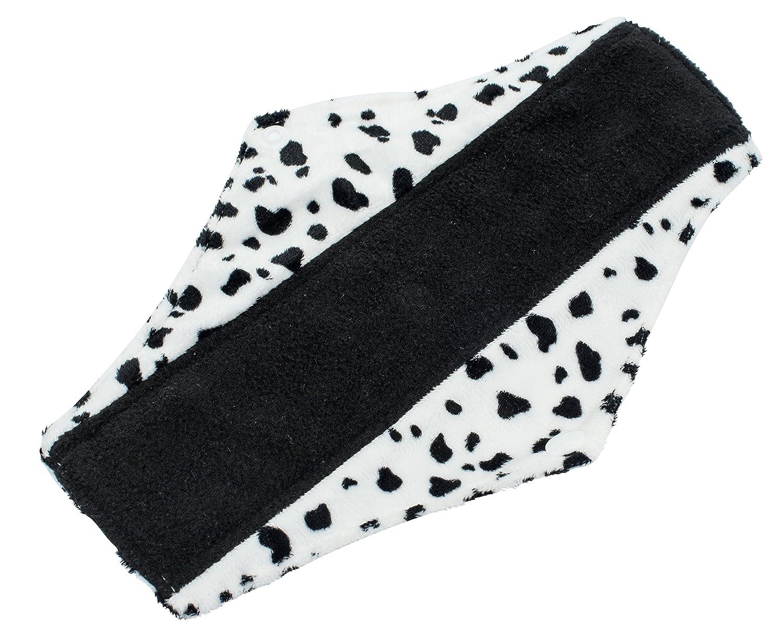 Compresas reutilizables | 4 salvaslip tela muy absorbentes | toallas femeninas de tela menstruación (Weiss): Amazon.es: Salud y cuidado personal