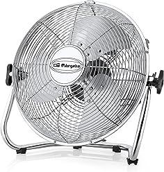 2200 W 2 Settings Silver Thermostat Orbegozo FH6035 Thermoventilator Cold Vertical