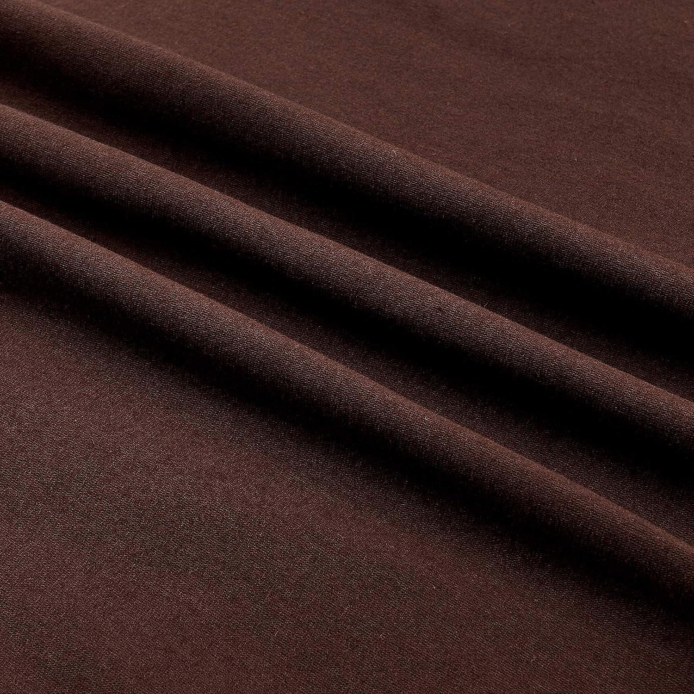 Robert Kaufman Kaufman Laguna Stretch Jersey Knit Chocolate Yard