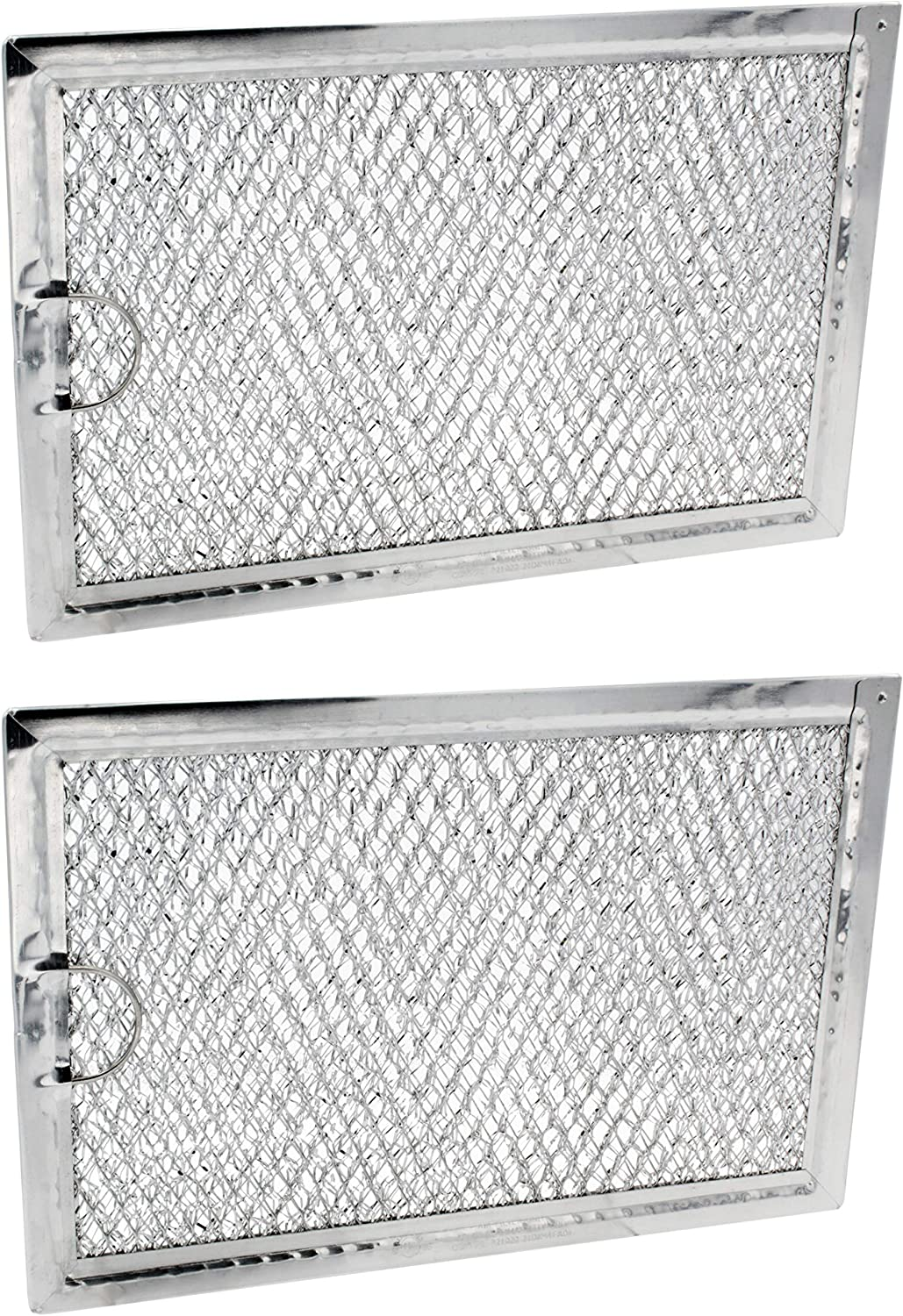 Supplying Demand 5304464105 Microwave Grease Filter Compatible with Frigidaire Fits 1381132, PS1993472 (2 Pack)