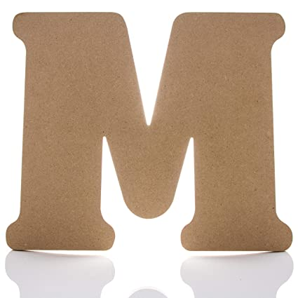 12 wooden letter m large wall decor letters