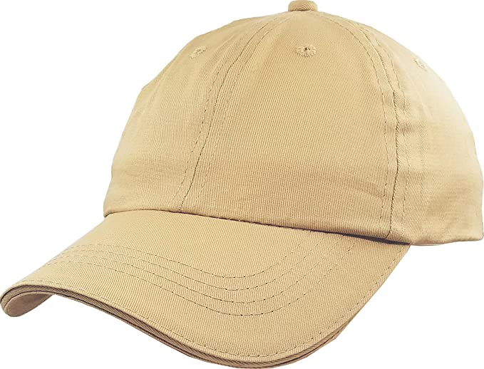 c41b4374 Image Unavailable. Image not available for. Color: Baseball-Cap-Hat-Boys  Kids Adjustable Plain - Unisex Unconstructed Low Profile Cotton