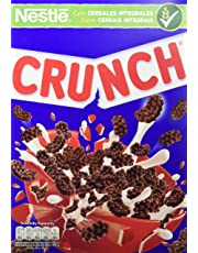 Cereales Nestlé Crunch - Cereales de trigo, arroz y maíz tostados con chocolate