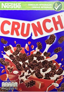 Cereales Nestlé Crunch Cereales de trigo, arroz y maíz tostados con chocolate - Paquete de