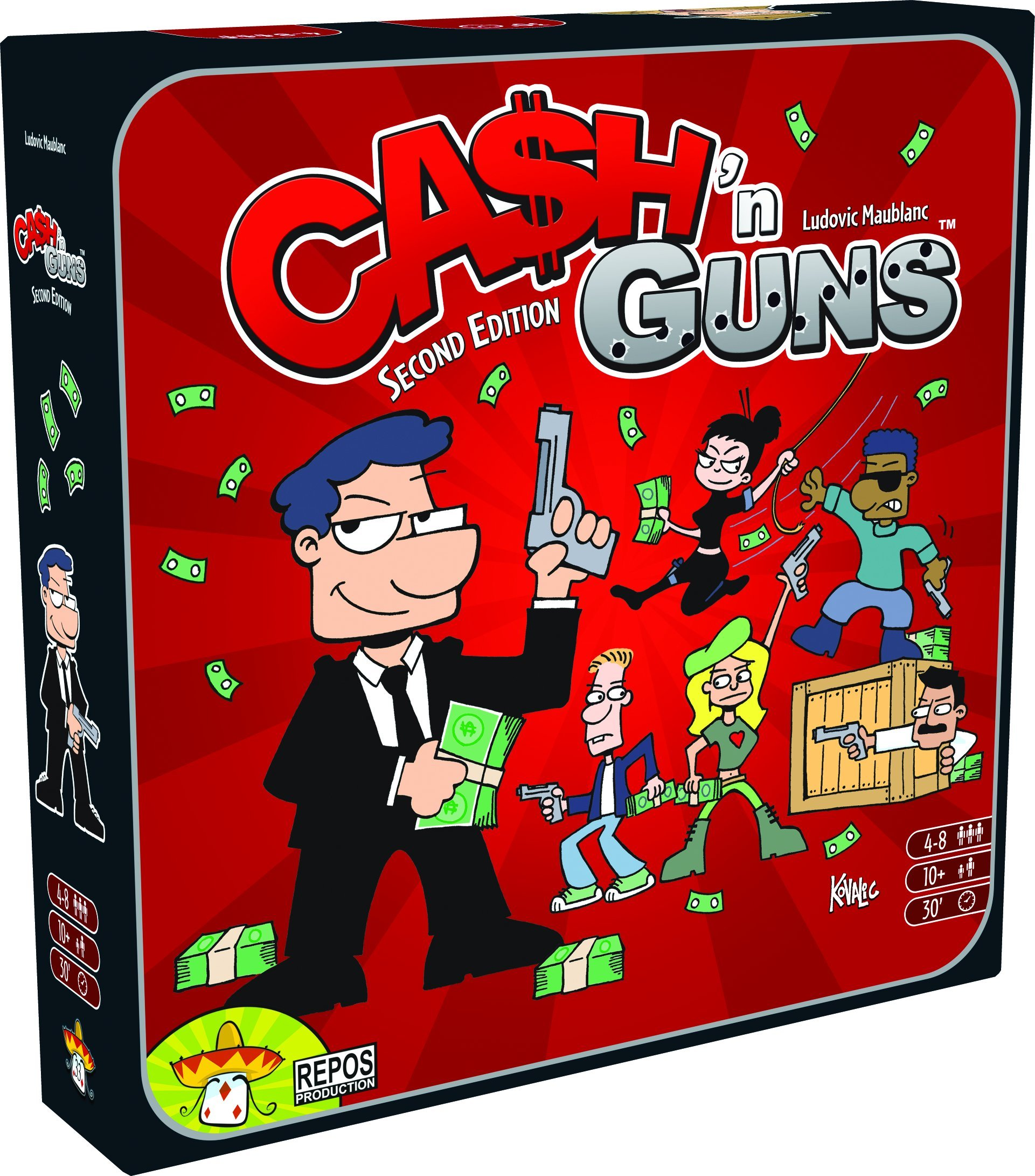 Cash n Guns (2nd Edition) by Asmodee