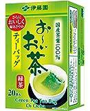 伊藤園 おーいお茶 抹茶入り緑茶 ティーバッグ 20袋