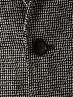 Houndstooth Wool 2-button Jacket 1122-199-4672: Grey